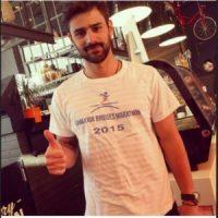 Ο Πρωταθλητής του Beach Volley Ελλάδος, Παύλος Κουζούνης στηρίζει το Chalkida Bridges Marathon!