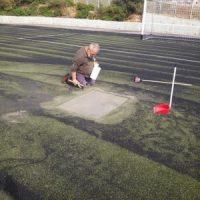 Εργασίες στο Γήπεδο Ποδοσφαίρου «Ι.Καλαμακίδη» στην Κάνηθο