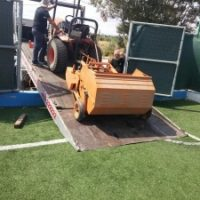 Συντήρηση Γηπέδων Ποδοσφαίρου με συνθετικό τάπητα
