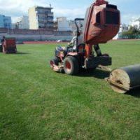 Συντήρηση Γηπέδων Ποδοσφαίρου με φυσικό χλοοτάπητα