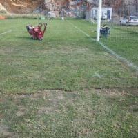 Ολοκληρωμένο έργο συντήρησης του φυσικού χλοοτάπητα στο Γήπεδο Ποδοσφαίρου Τσαλίκη - Παπίλα