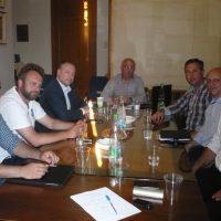 Συνάντηση αντιπροσωπείας της Volley League και του Ηρακλή Χαλκίδας, με το Δήμαρχο