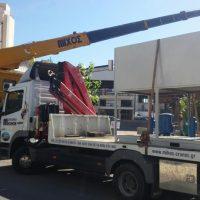 Εγκατάσταση νέας μονάδας air condition στο Θέατρο Παπαδημητρίου