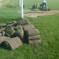 Εργασίες σε γήπεδα ποδοσφαίρου