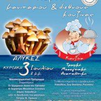 Φιλανθρωπική γιορτή Μανιταριού και Διεθνούς Κουζίνας