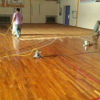 Εργασίες αναβάθμισης Γυμναστηρίου