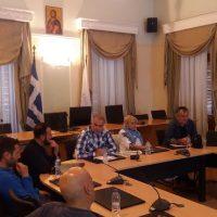 Σύσκεψη με εκπροσώπους ΣΕΓΑΣ για αθλητικές διοργανώσεις  2017
