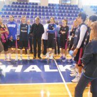 Ο δήμαρχος στην εθνική γυναικών μπάσκετ – ενόψει του αγώνα Ελλάδα Βουλγαρία