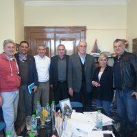 Συνάντηση με τον Γεν.Γραμματέα του ΣΕΓΑΣ, για το Πανελλήνιο Πρωτάθλημα ΠΠΑ-ΠΚΑ Ν.Ομίλου