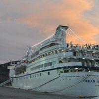 """Εκδήλωση για την ενίσχυση του τουρισμού στην Εύβοια στο κρουαζιερόπλοιο """"OCEAN MAJESTY"""""""