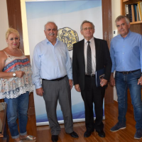 Επίσκεψη Ρώσου Εκπροσώπου στον Δήμαρχο Χαλκιδέων