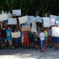Τα παιδιά ζωγράφισαν την πόλη χωρίς αυτοκίνητο