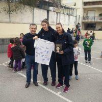 Η Εθνική Ομάδα Γυναικών Ελλάδας στα Δημοτικά Σχολεία Χαλκίδας, 7ο και 20ο