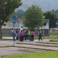 ΑΓΙΑΣΜΟΣ & Σεμινάριο των Σχολικών Τροχονόμων στο Πάρκο Κυκλοφοριακής Αγωγής