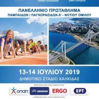 Πανελλήνιο Πρωτάθλημα Κ16 2019 - Α΄ Νοτίου Ομίλου