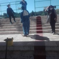 Απολύμανση Δημοτικού Σταδίου Χαλκίδας