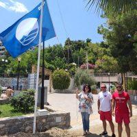 Τρείς Γαλάζιες Σημαίες σε ακτές του Δήμου Χαλκιδέων για το 2020